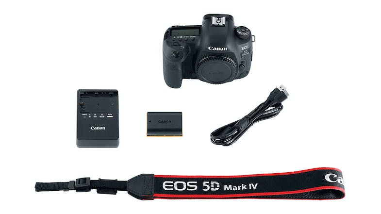 Canon EOS 5D Mark IV DSLR Camera Body