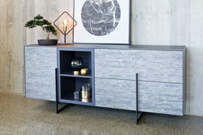 Alumina Buffet by Debonaire Furniture
