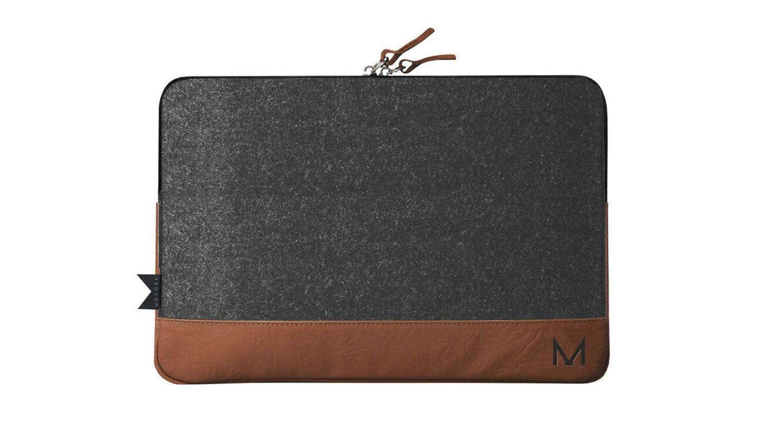 "Moyork Cloak 13-14"" Charging Sleeve - Marle/Nutmeg Leather"