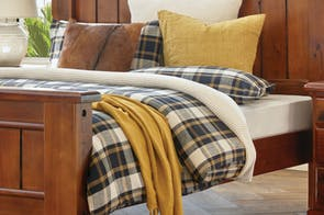 Masai Check Duvet Cover Set by L'Avenue