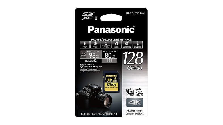 Panasonic 128GB SD Card Gold Series