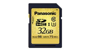 Panasonic 32GB SD Card Gold Series