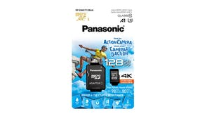 Panasonic 128GB Micro SD Card Gold Series
