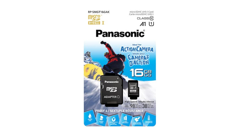 Panasonic 16GB Micro SD Card Gold Series