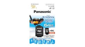 Panasonic 64GB Micro SD Card Gold Series