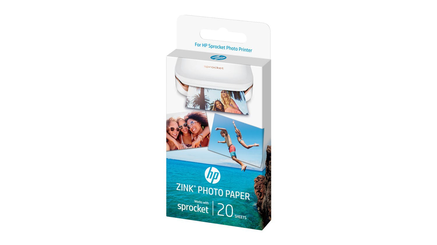 HP Sprocket Photo Paper - 20 Sheets