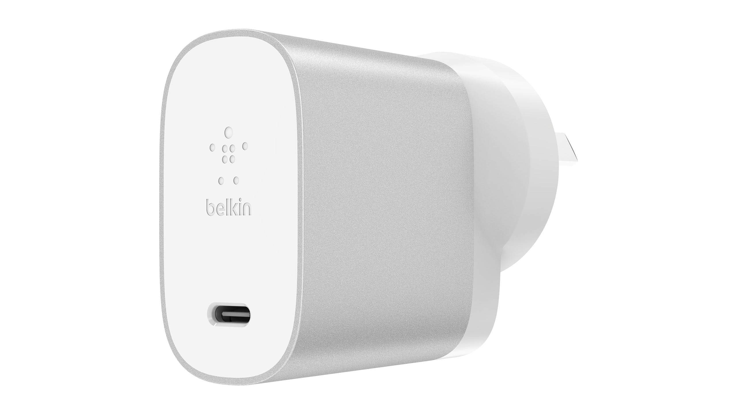 Belkin USB-C 27W Home Charger - Silver