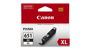 Canon CLI651XL Black High Capacity Ink Cartridge
