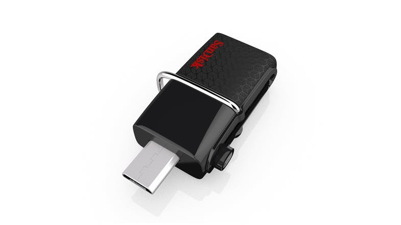SanDisk Ultra Dual USB Flash Drive - 16GB