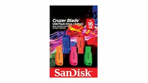 SanDisk Cruzer Blade USB 2.0 Flash Drive - 16GB (5 Pack)
