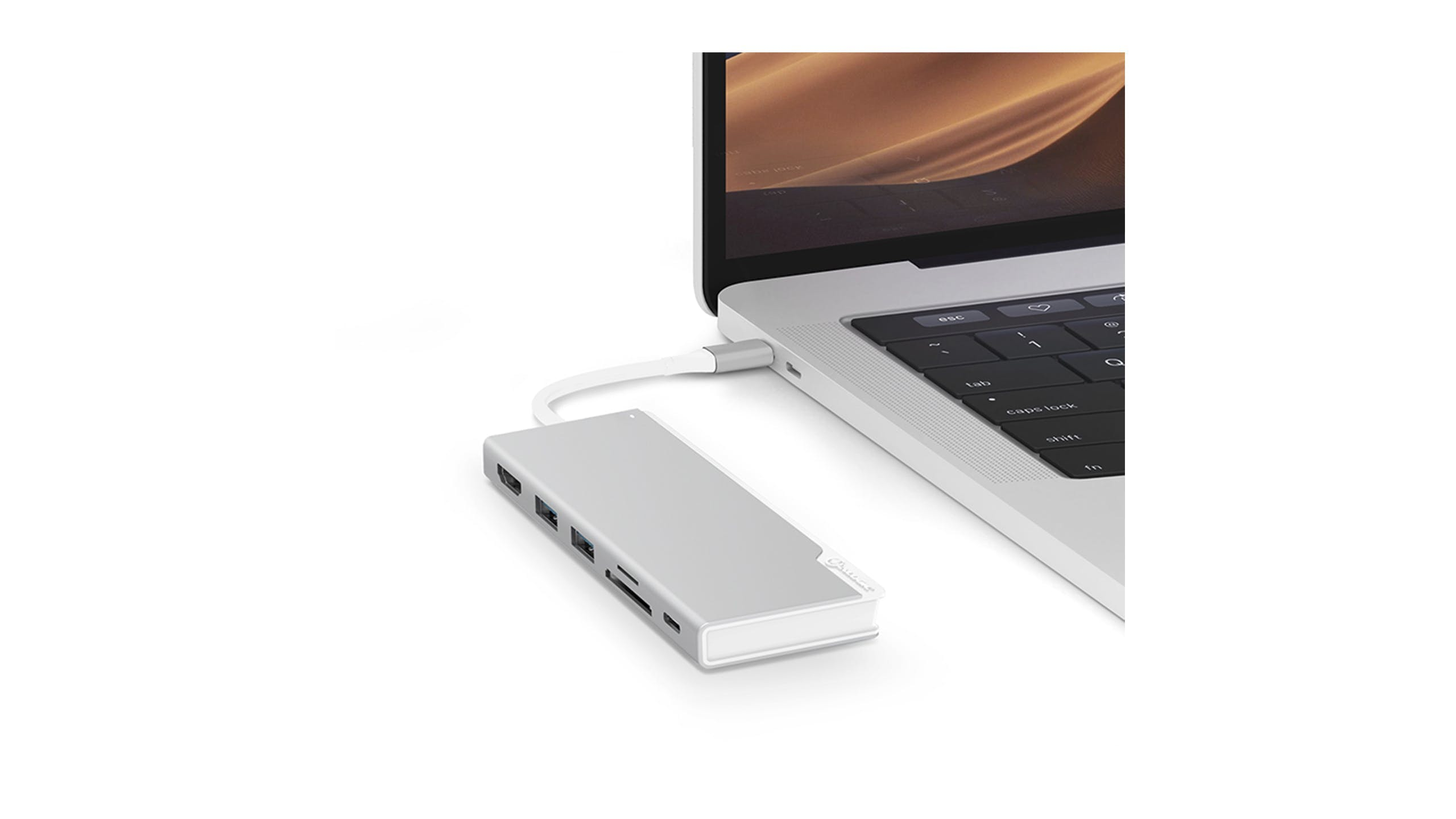Alogic Ultra Series USB-C Dock UNI with Power Delivery -  Silver