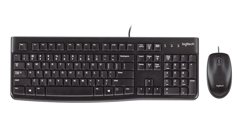 Logitech MK120 Wired Keyboard & Mouse