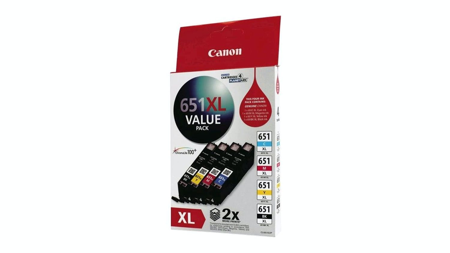 Canon CL651XL High Yield Ink Cartridge - Value Pack