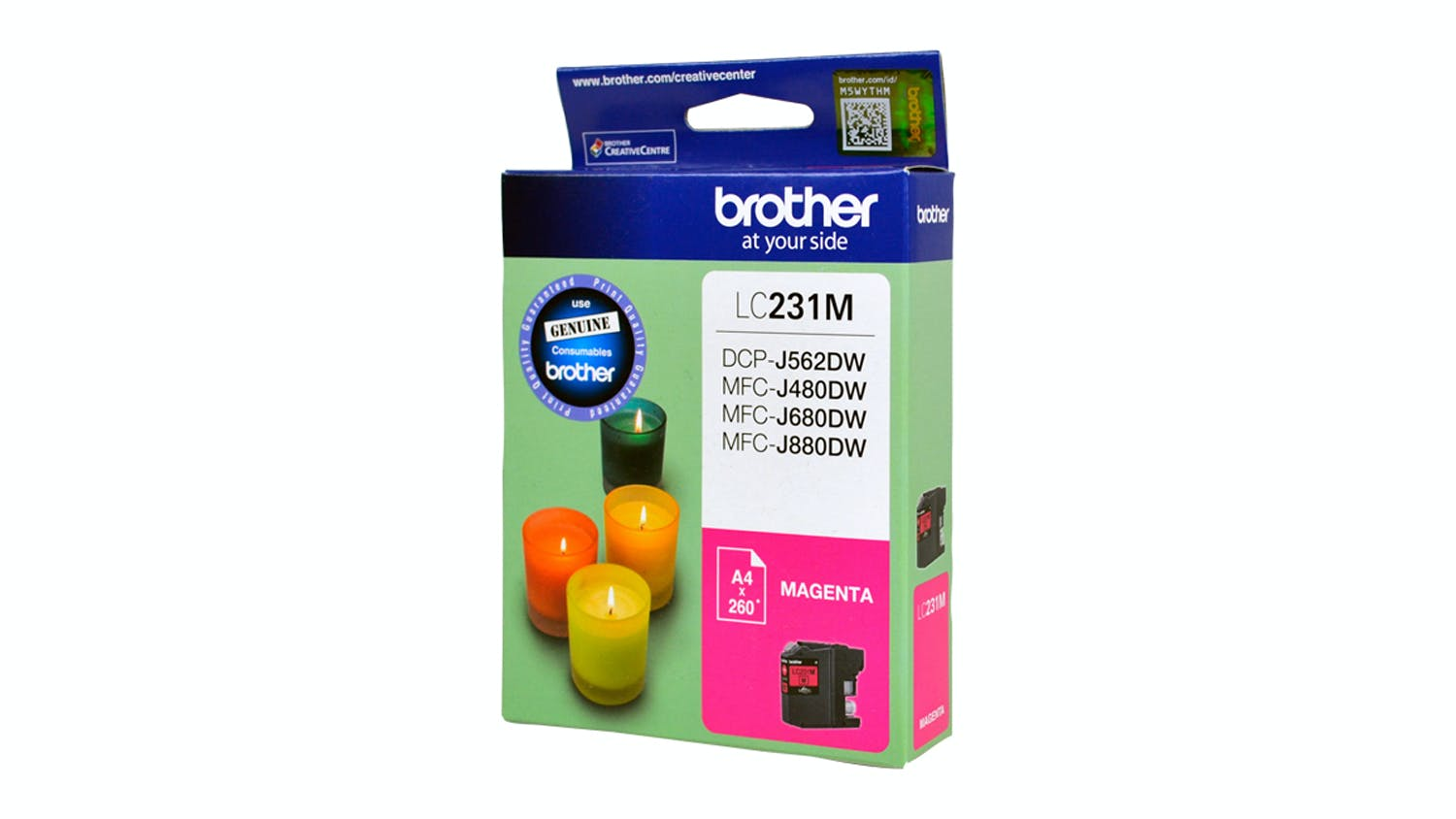 Brother LC231M Ink Cartridge - Magenta