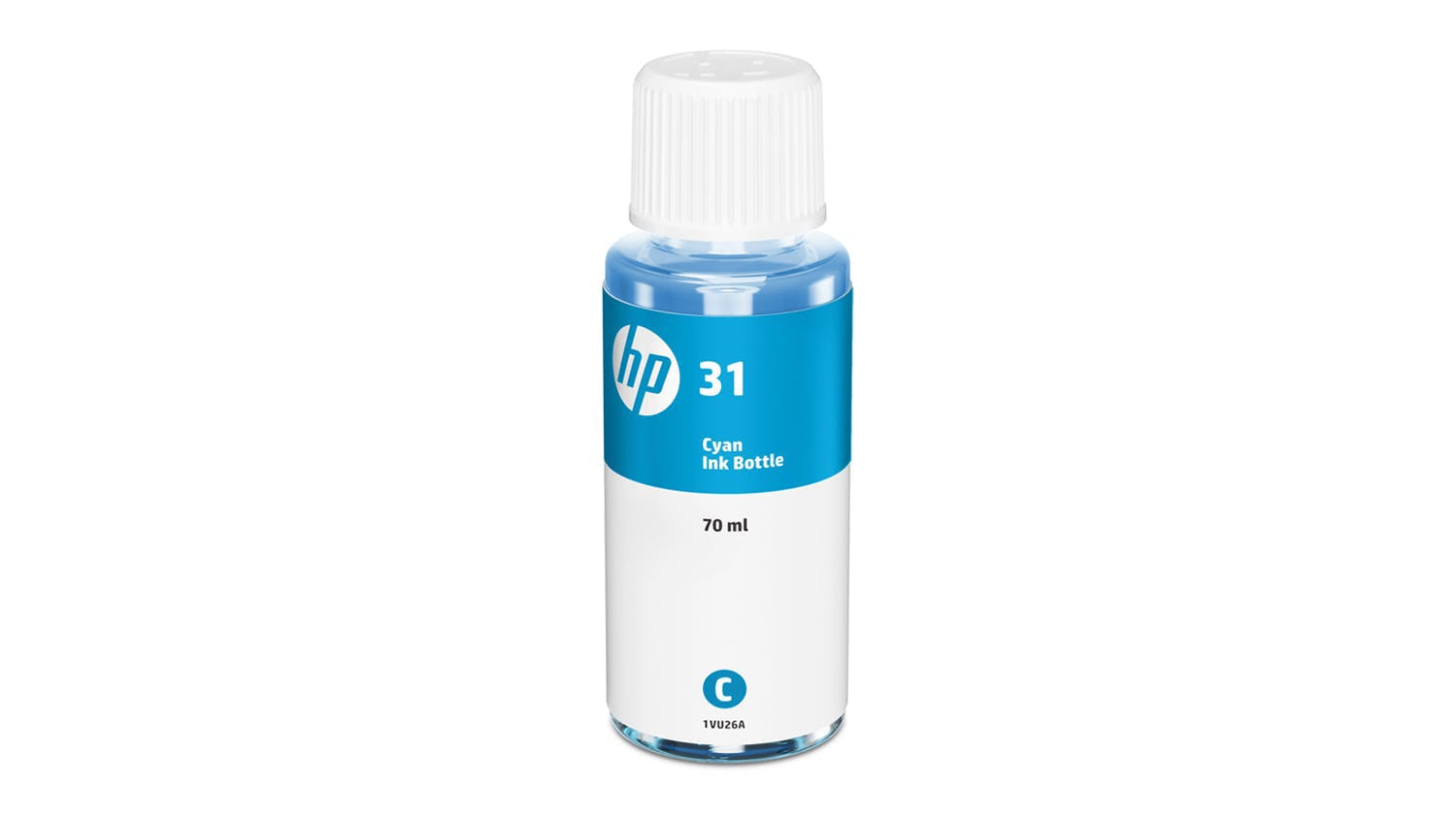 HP 31 70ml Original Ink Bottle Cyan