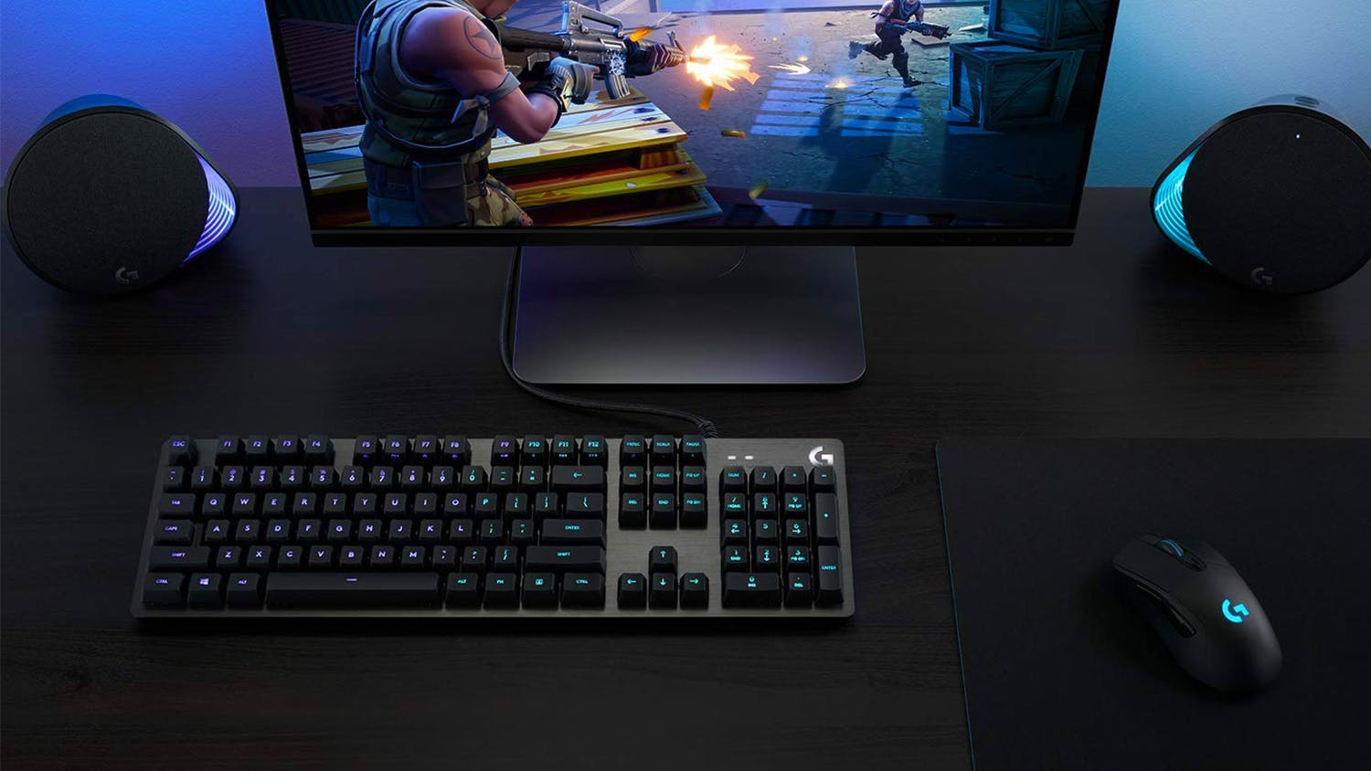 Logitech G512 Mechanical Gaming Keyboard - Linear