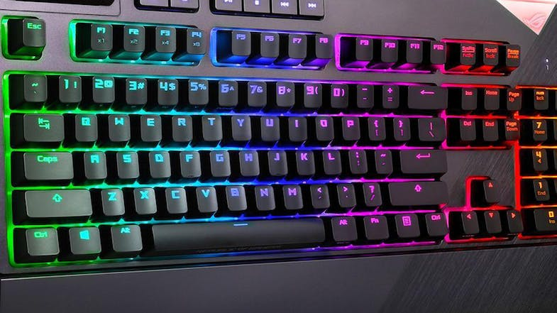 Asus ROG Strix Flare Call of Duty: Black Ops 4 Gaming Keyboard