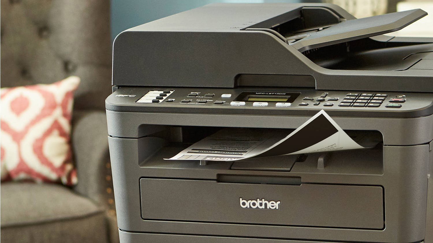 Brother MFCL2713DW Mono Laser All-in-One Printer