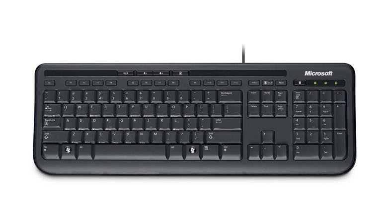 Microsoft 600 Wired Keyboard & Mouse