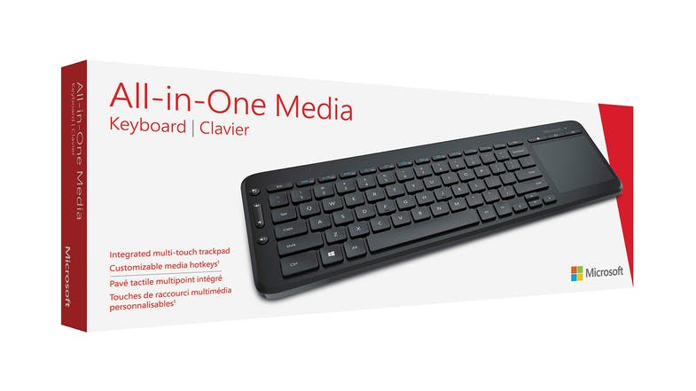 Microsoft All-in-One Media Keyboard with Touchpad