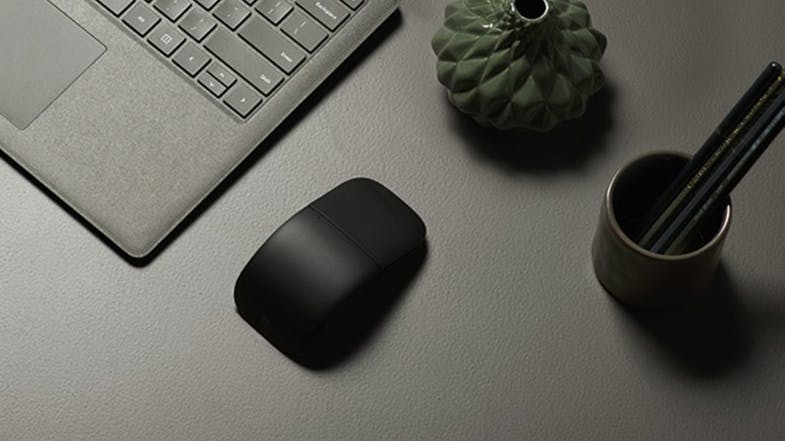 Surface Arc Wireless Bluetooth Mouse - Black
