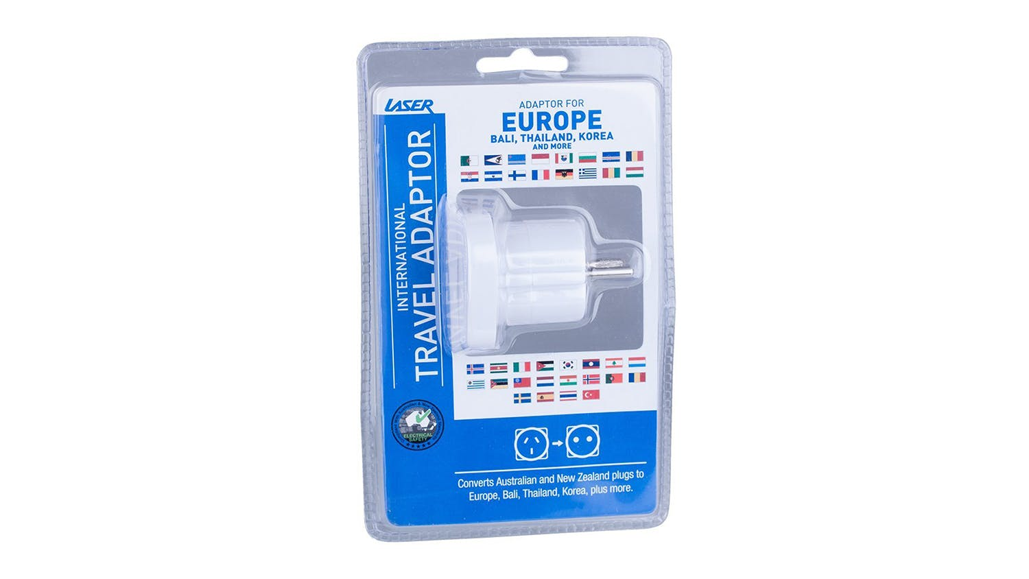 Laser Travel Adapter - EU Countries