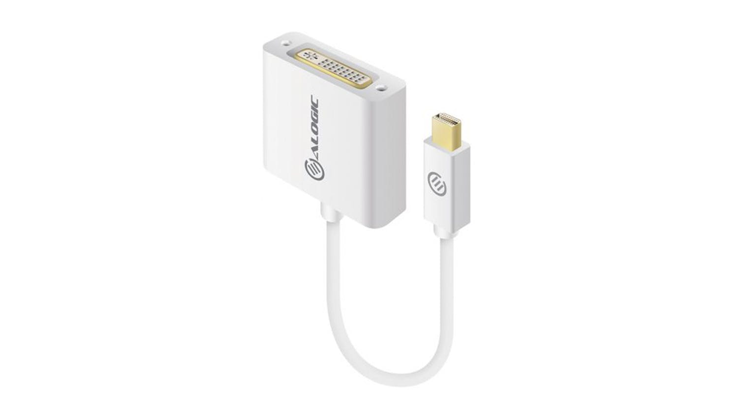 Alogic Premium Series Mini DisplayPort to DVI Adapter - 15cm