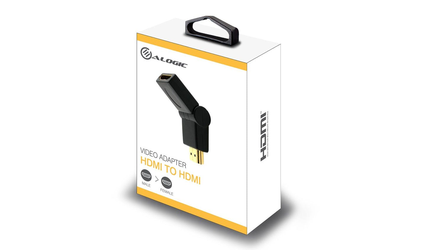 Alogic 90 Degree Swivel HDMI to HDMI Adapter