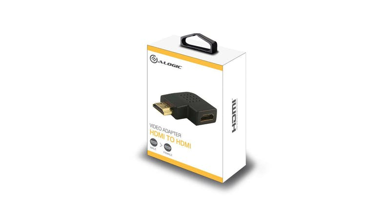 Alogic Right Angle HDMI to HDMI Adapter