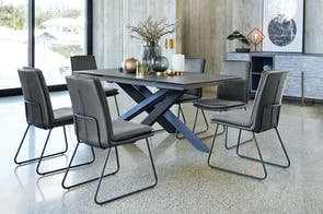 Alumina 1800 Extension Dining Table by Debonaire Furniture