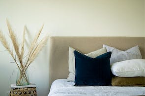 Boston Queen Headboard by Sleep Systems