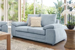 Dante 2 Seater Fabric Sofa by Furniture Haven