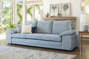 Dante 4 Seater Fabric Sofa by Furniture Haven
