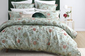 Hartley Mist Duvet Cover Set by Platinum Collection