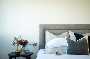 Houston Queen Headboard by Sleep Systems