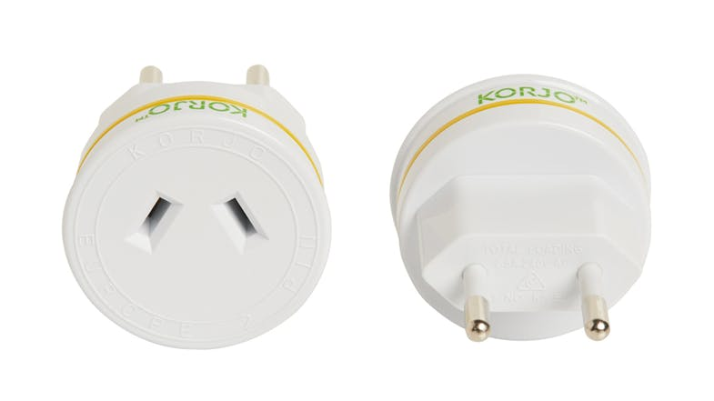Korjo Travel Adapter for Italy and Switzerland