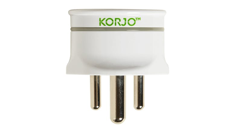 Korjo Travel Adapter for India
