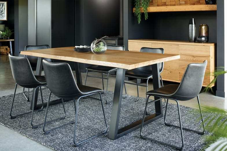 Kubu 7 Piece Dining Suite by Synargy