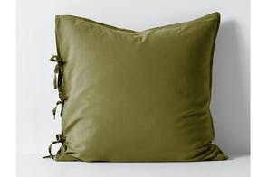 Maison Vintage Olive European Pillowcase By Aura