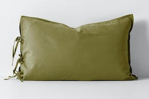 Maison Vintage Olive Standard Pillowcase By Aura