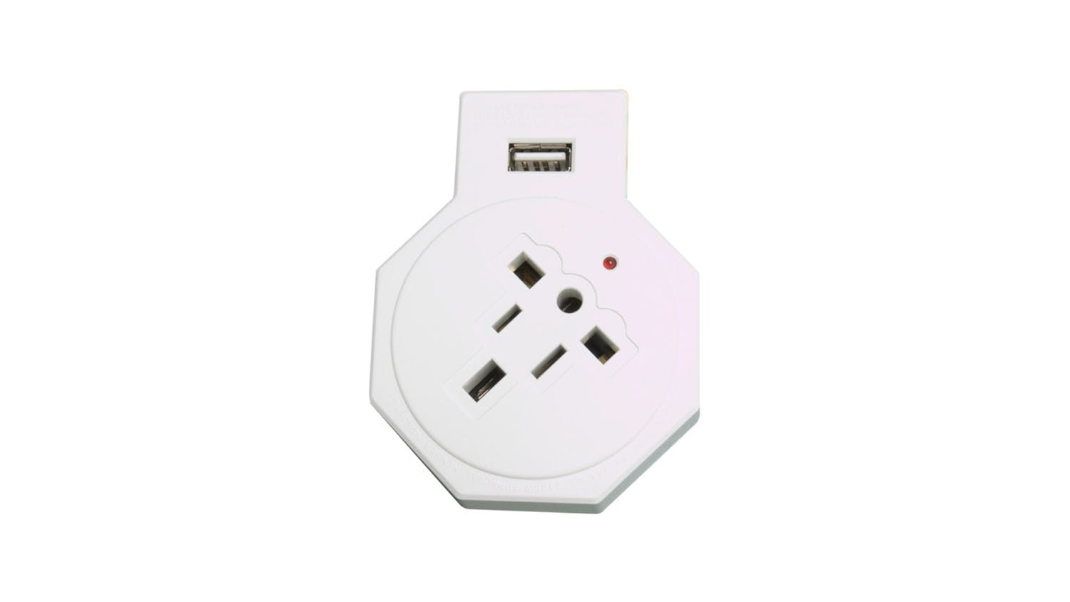 Jackson Inbound Travel Adapter with USB Charging Outlet For USA and UK