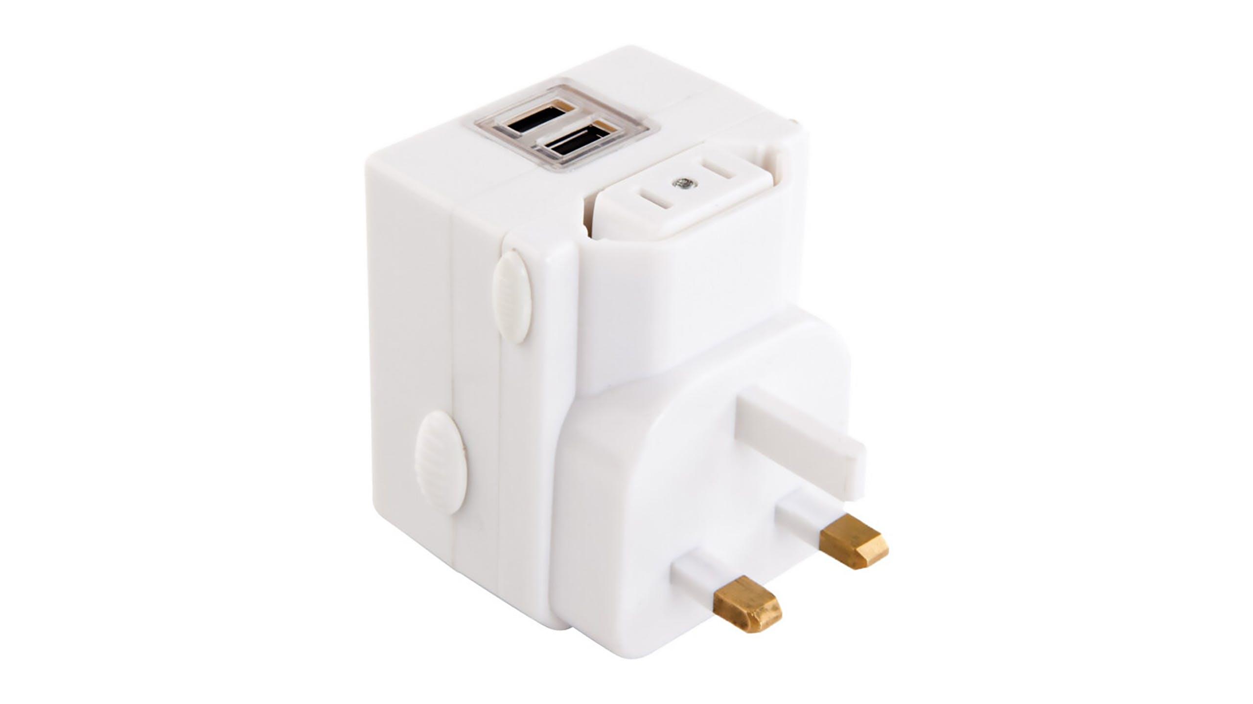 Jackson Outbound Worldwide Travel Adapter with USB Charging Outlet