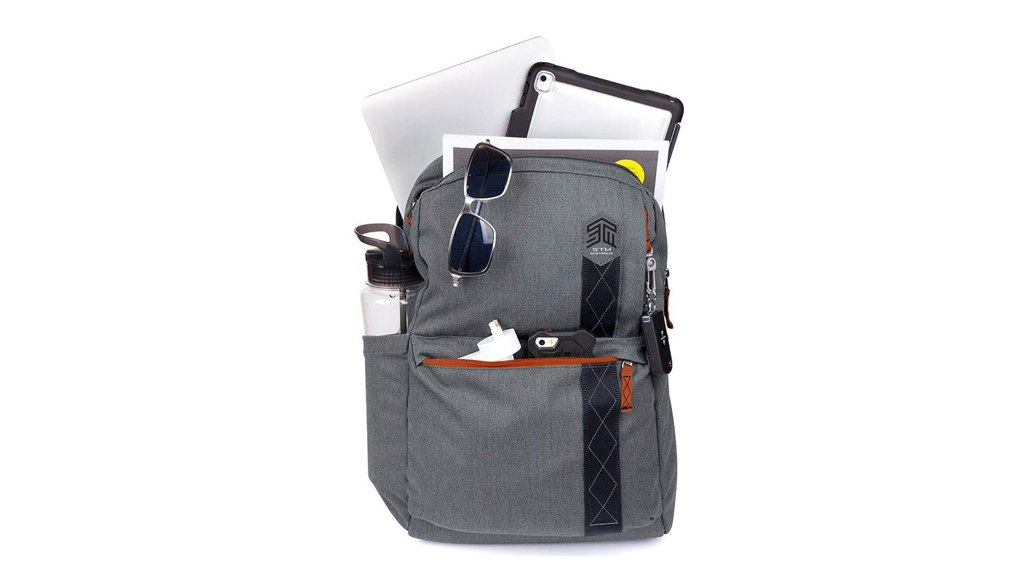"STM Streets Banks 15"" Laptop Backpack - Tornado Grey"
