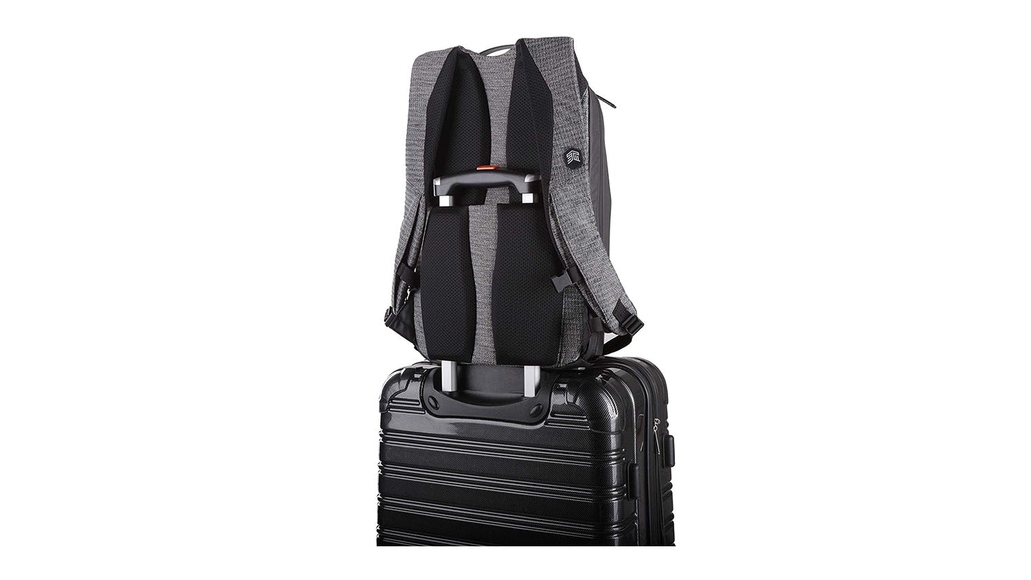 "STM Myth 15"" 18L Laptop Backpack - Granite Black"