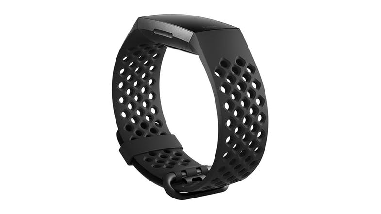 Fitbit Sport Band for Charge 3 Black - Large