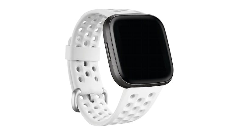 Fitbit Sport Band for Fitbit Versa 2 Frost White - Large