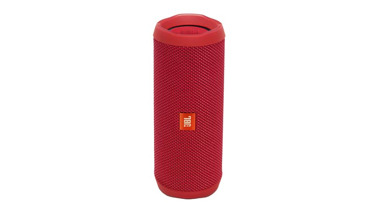 JBL Flip 4 Portable Bluetooth Speaker - Red
