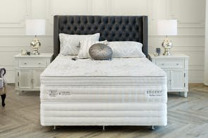 Grand Luxury Medium Queen Bed by King Koil