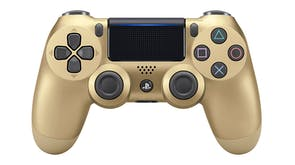 PS4 DUALSHOCK 4 Wireless Controller - Special Edition Gold