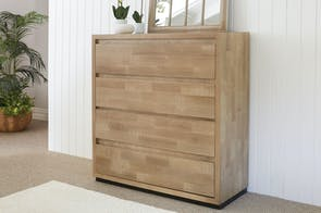 Reefton 4 Drawer Tallboy by Sorensen Furniture